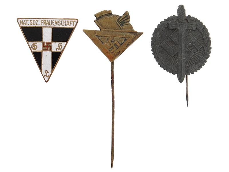 eMedals-Lot of Three Pins