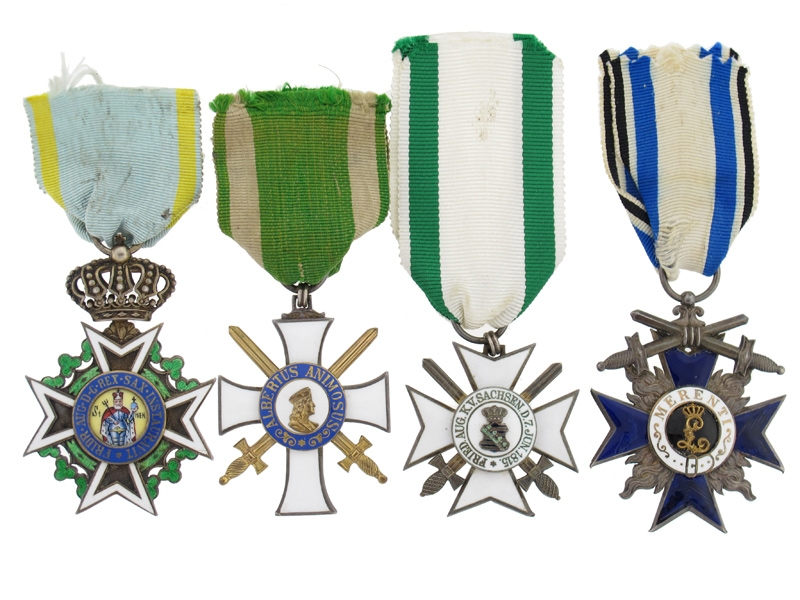 eMedals-Fine Great War Group of Four,