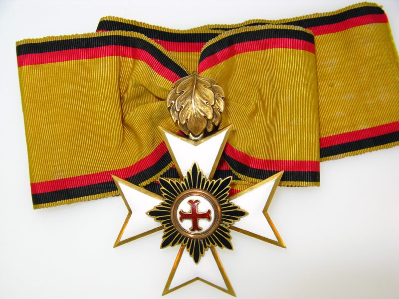 eMedals-WALDECK, Merit Cross Second Class 1896-1918