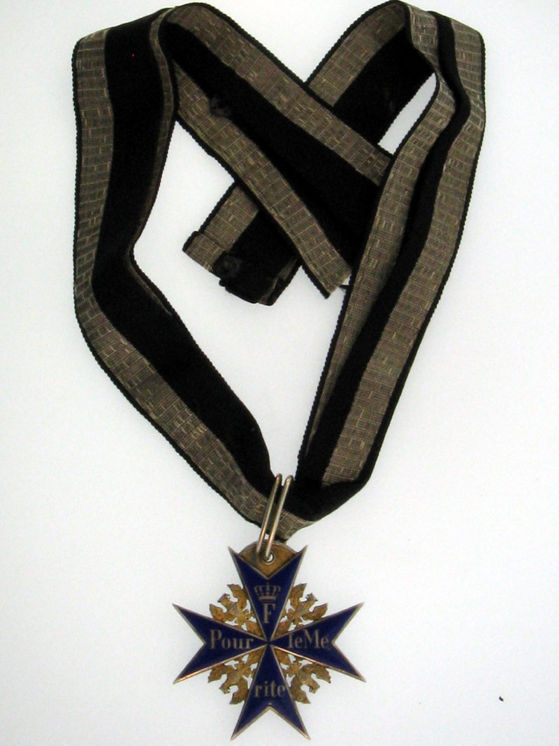 eMedals-Prussia, Order Pour-le-Merite to Major Wulf
