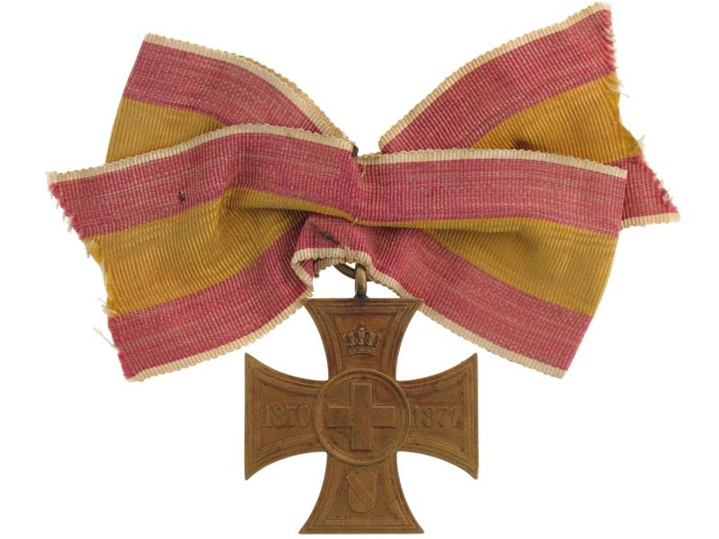 eMedals-Baden, Voluntary Nurse Cross 1870-71