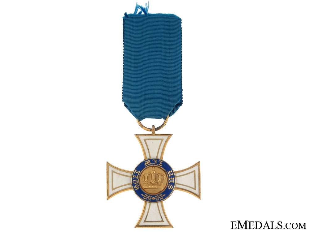 eMedals-Order of the Crown, 1867-1918