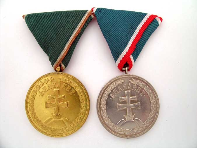 eMedals-TWO MEDALS OF MERIT