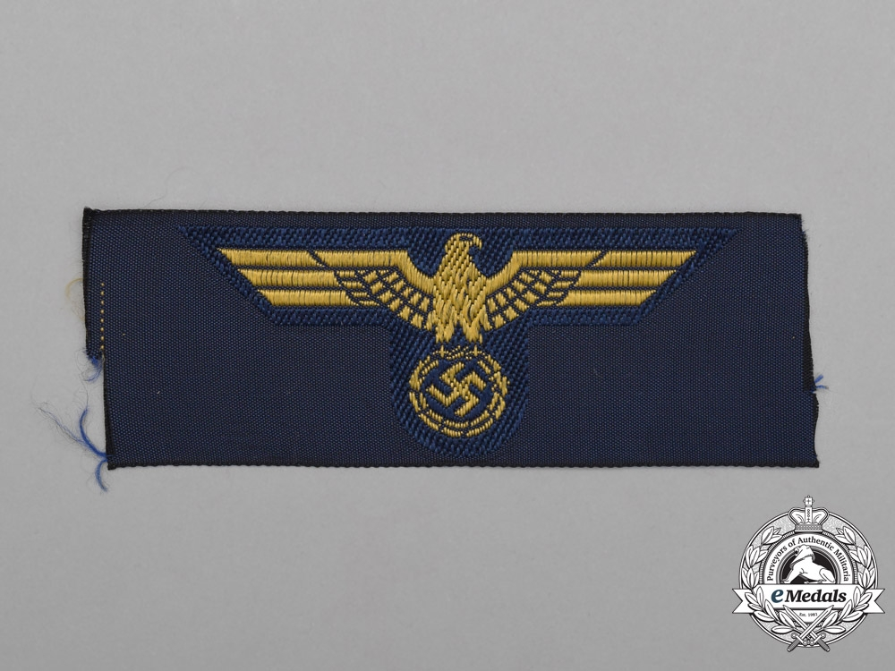 eMedals-A Mint and Unissued Kriegsmarine (Navy) Cap Eagle