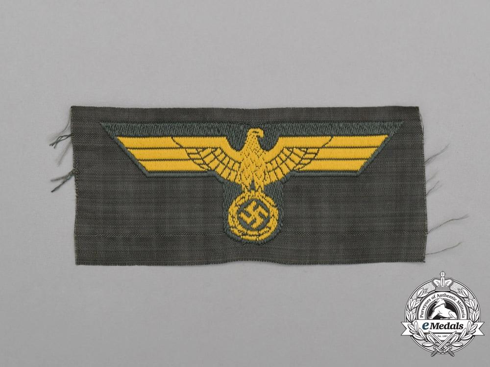 eMedals-A Mint and Unissued Coastal Artillery EM/NCO Cap Eagle