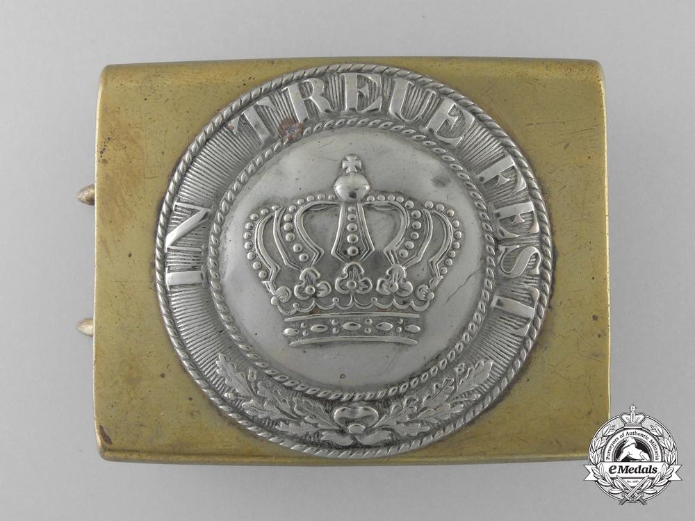 eMedals-A Pre 1914 Bavarian Belt Buckle c.1880-1890