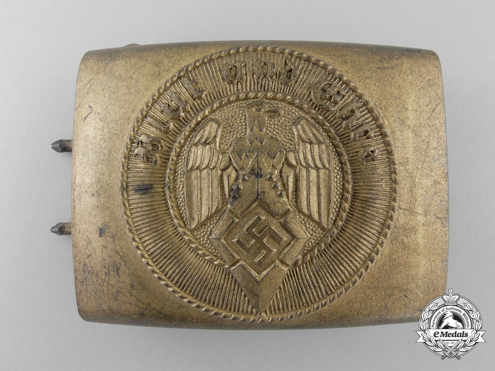 eMedals-An HJ Belt Buckle by Richard Sieper & Söhne; Published Example