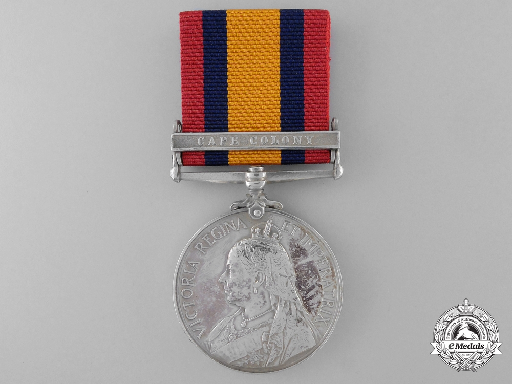 eMedals-A Queen's South Africa Medal to the Canadian Scouts