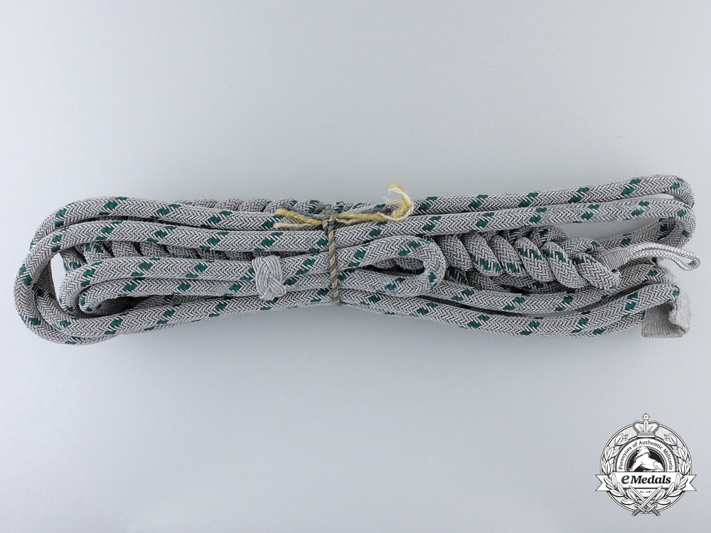 eMedals-A Mint German Forestry Official's Aiguillette