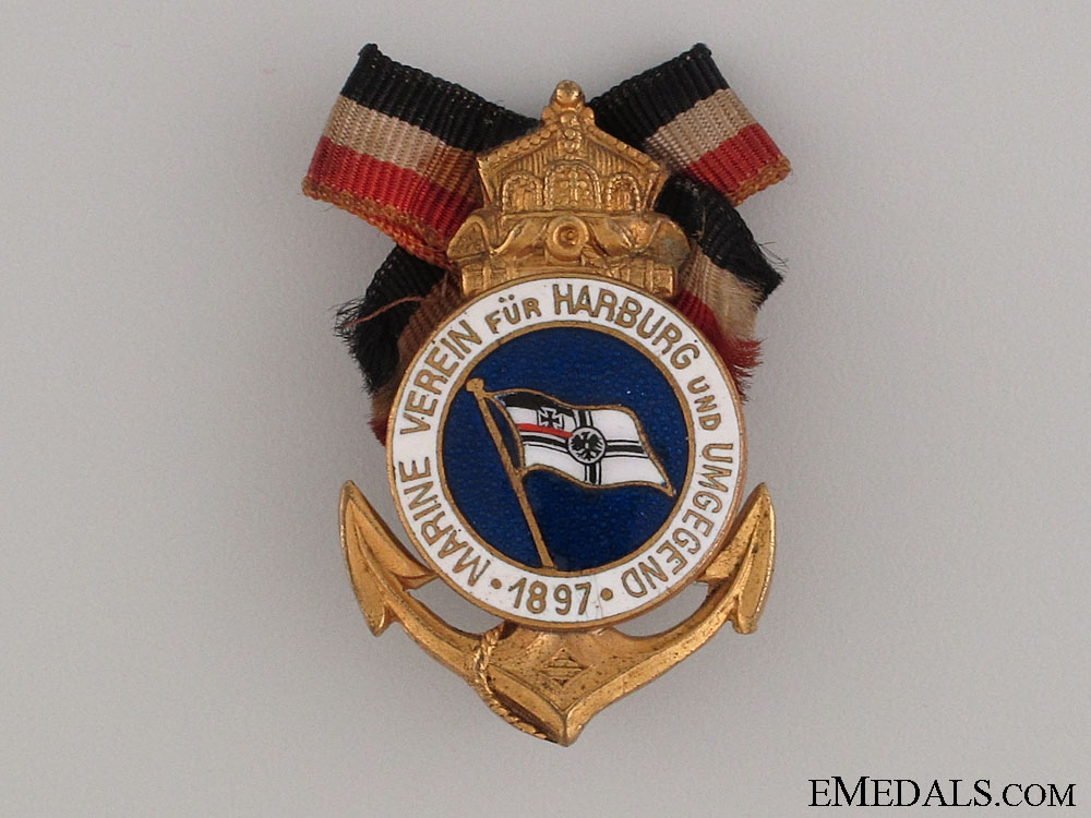 eMedals-Hamburg Naval Veteran's Association Pin