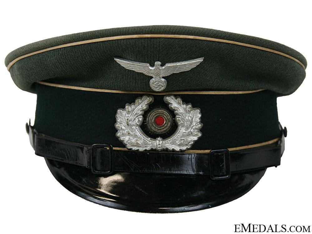eMedals-A Heer (Army) Infantry NCO/EM Visor Cap