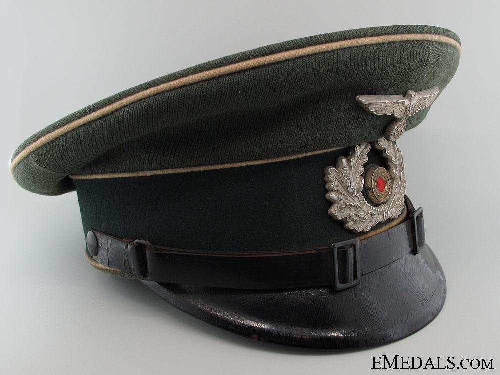 eMedals-Heer (Army) Infantry NCO/EM Visor Cap