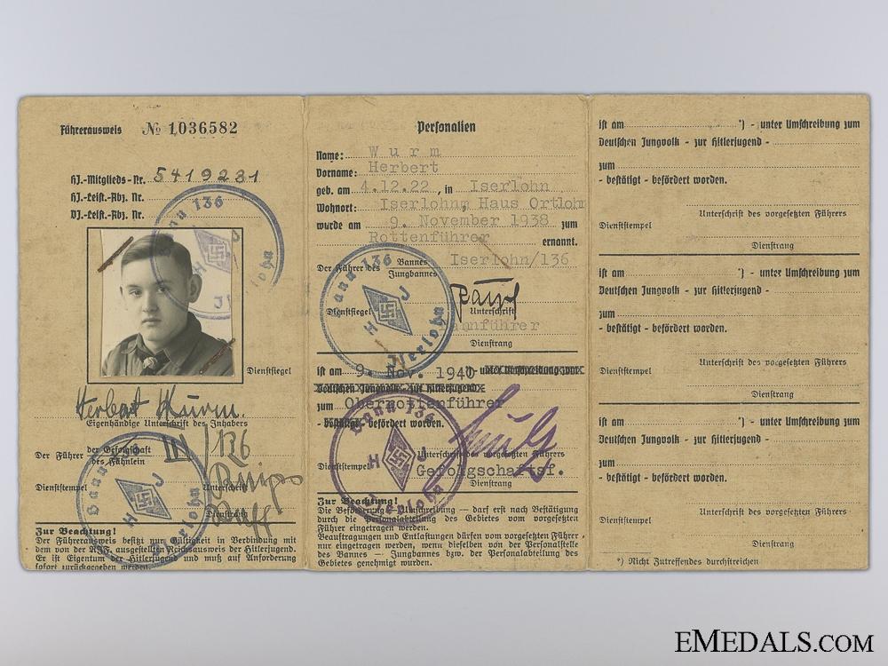 eMedals-Herbert Wurm ID Document Grouping