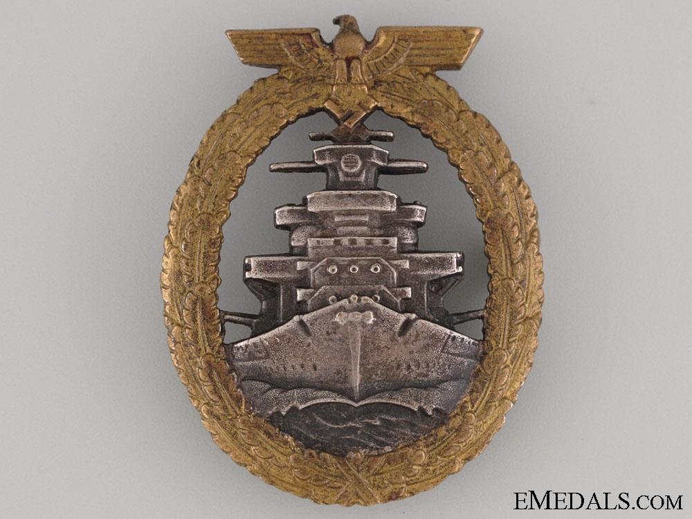 eMedals-High Seas Fleet Badge by Ausf. Schwerin Berlin