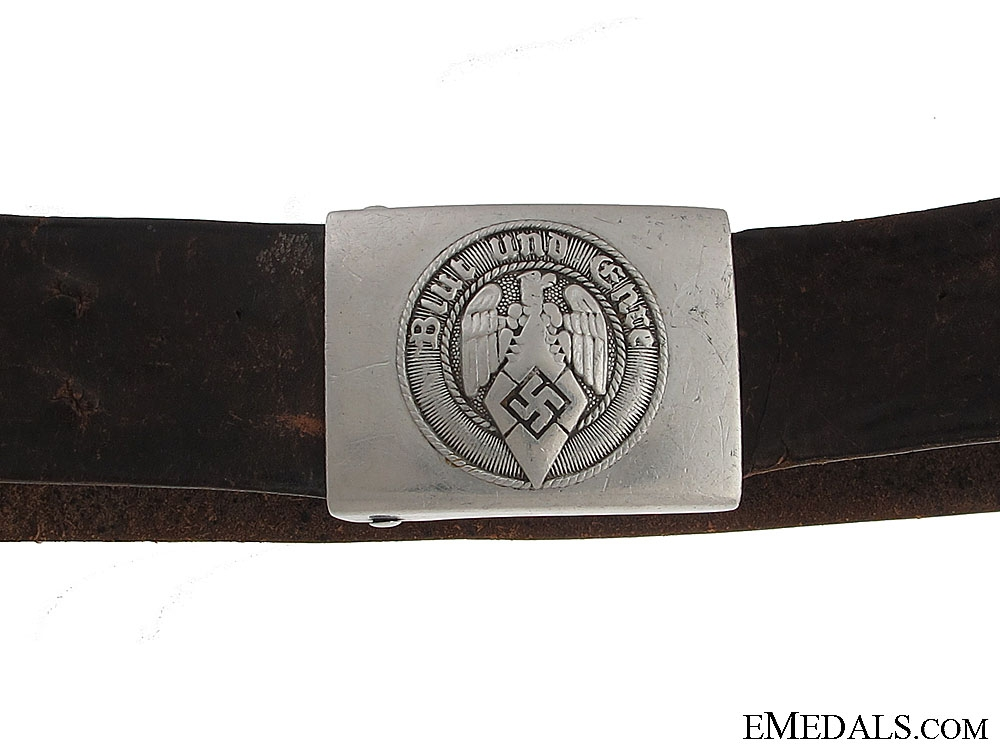 eMedals-HJ Belt & Buckle