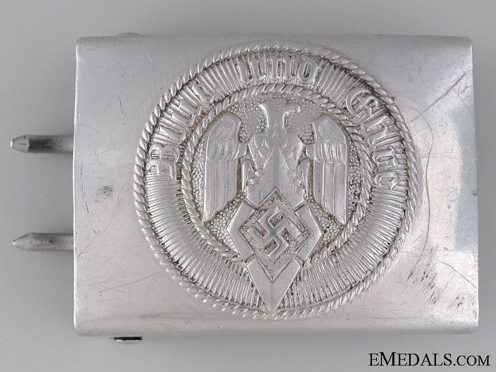 eMedals-HJ Belt Buckle