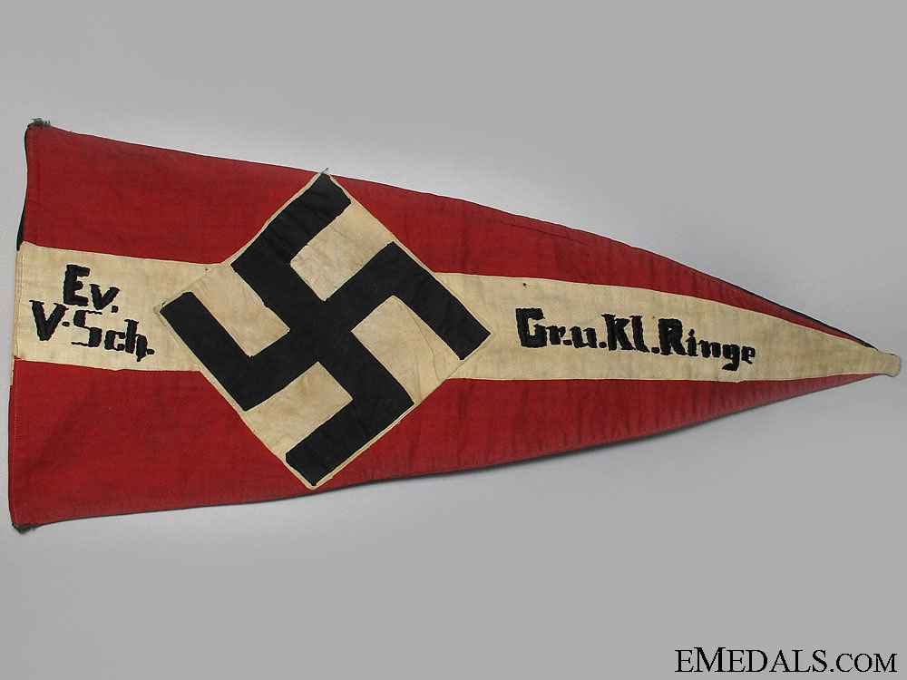 eMedals-An HJ Troop Pennant