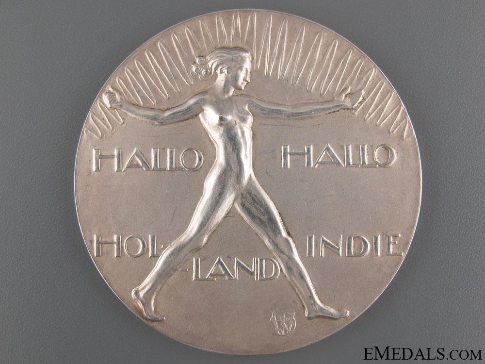 eMedals-Holland Indies Telecom Commemorative Medal 1929