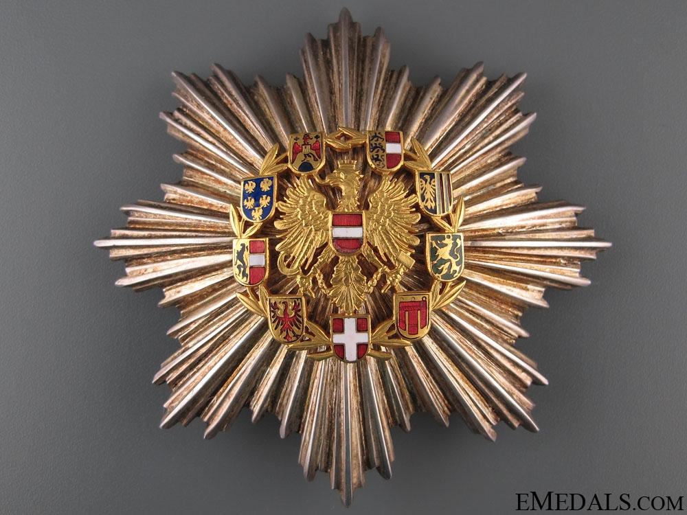 eMedals-Honour Badge of Merit – Grand Cross Star 1952