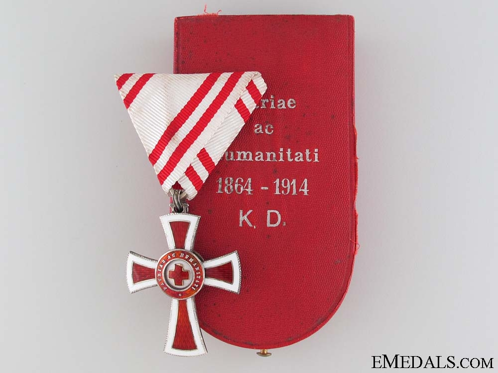 eMedals-Honour Decoration of the Red Cross, Cased