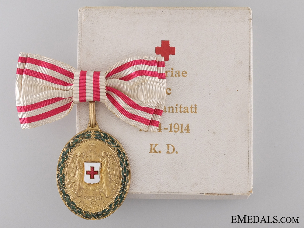 eMedals-Honour Decoration of the Red Cross; Merit Medal 1864-1914