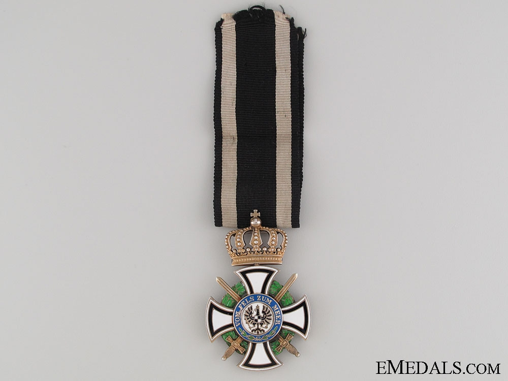 eMedals-House Order of Hohenzollern with Swords