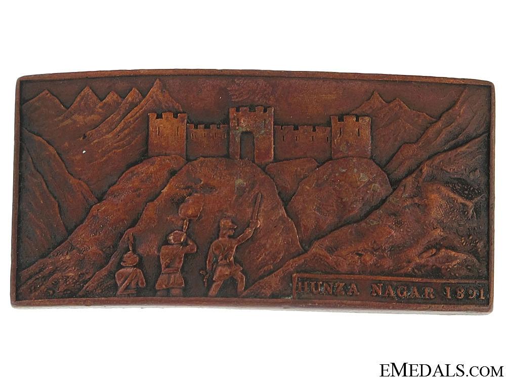 eMedals-Hunza Nagar Badge, 1891