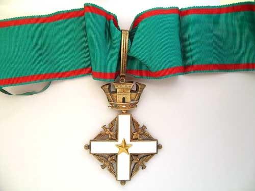 eMedals-ORDER OF MERIT OF THE ITALIAN REPUBLIC