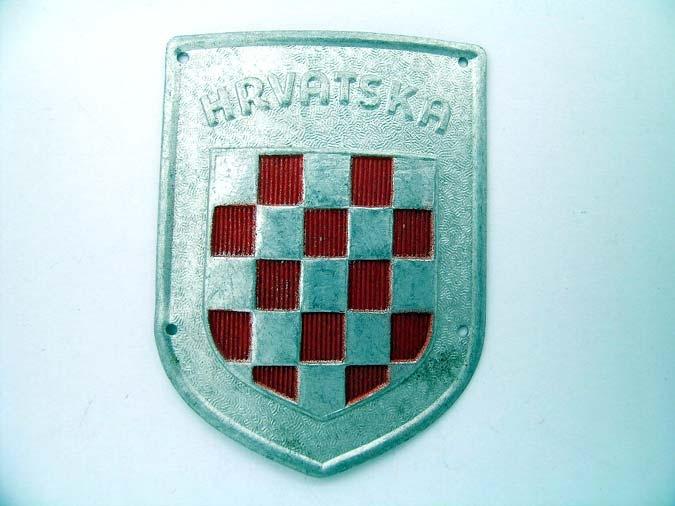 eMedals-BADGE OF  ITALIAN - CROATIAN LEGION WW II