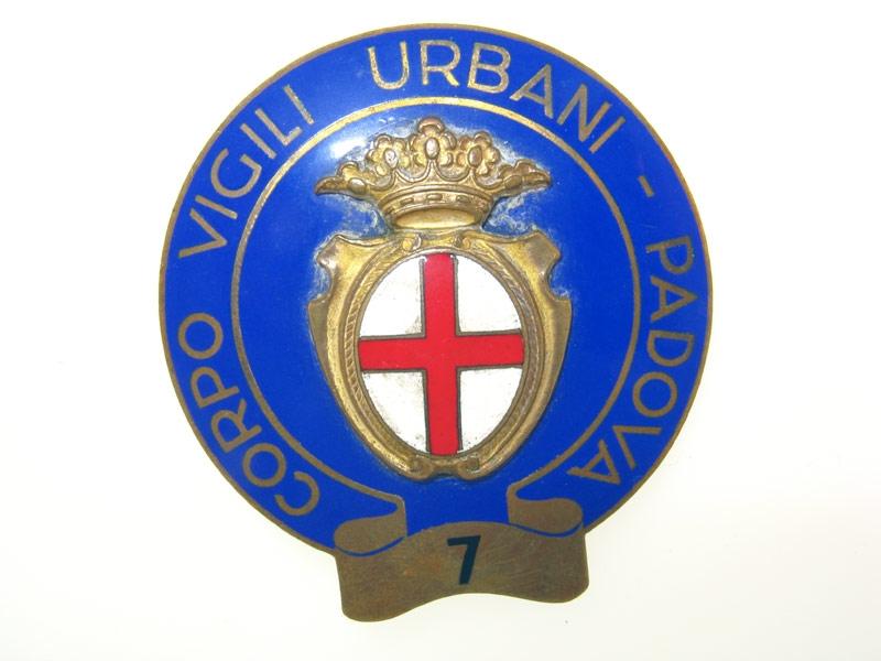 "eMedals-""Vigili Urbani"" Badge"
