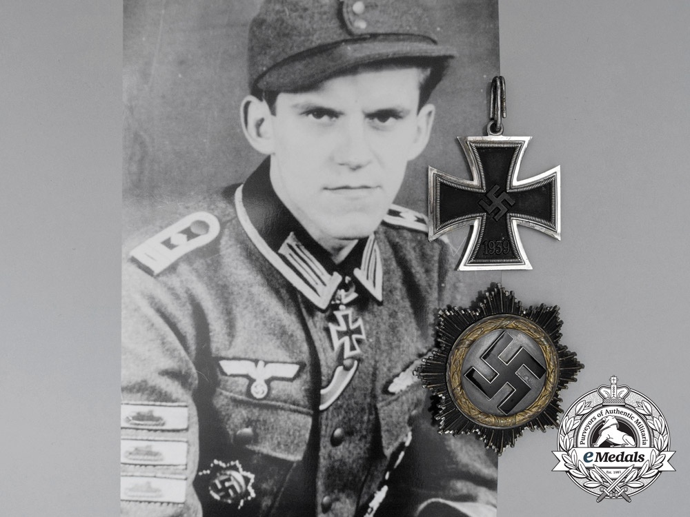 eMedals-The Awards of  Johannes-Matthias Hönscheid; Liaison Officer to Propaganda Minister