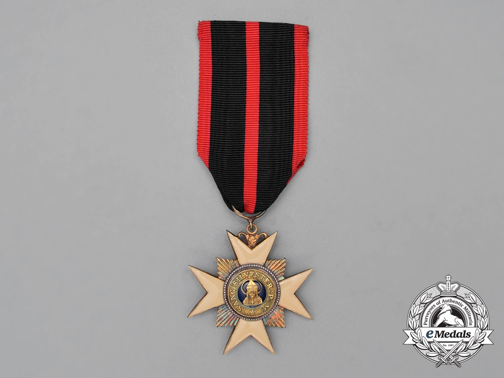 eMedals-An Order of St. Sylvester; Knight's Breast Badge