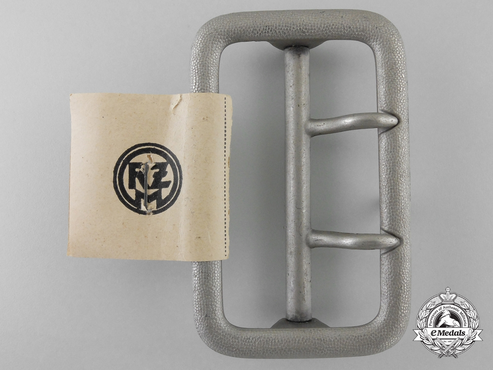 eMedals-An Army Open Claw Belt Buckle by Friedrich C. Werthmann