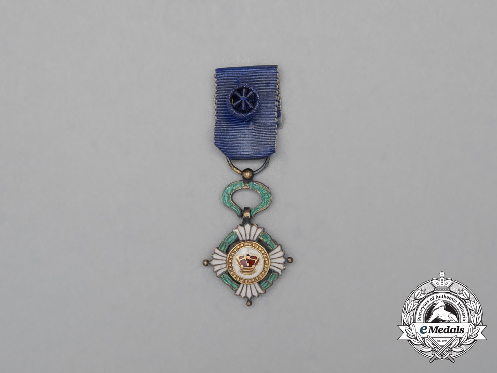 eMedals-A Miniature Order of the Yugoslav Crown