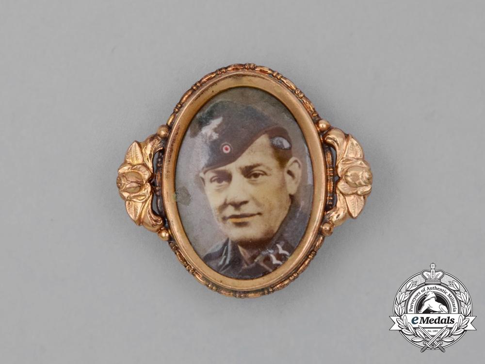 eMedals-A Second War Luftwaffe Private First Class Sweetheart Brooch