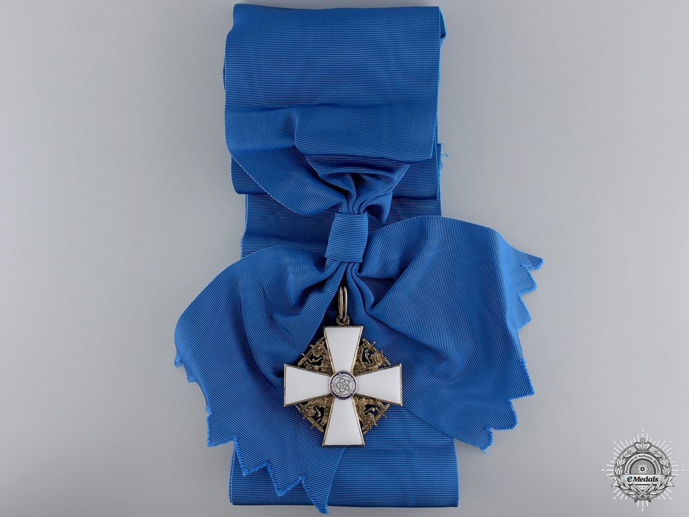 eMedals-Finland. An Order of the White Rose, Grand Cross, c.1942 by Tillander