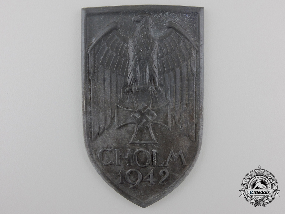 eMedals-A Scarce Cholm Campaign Shield