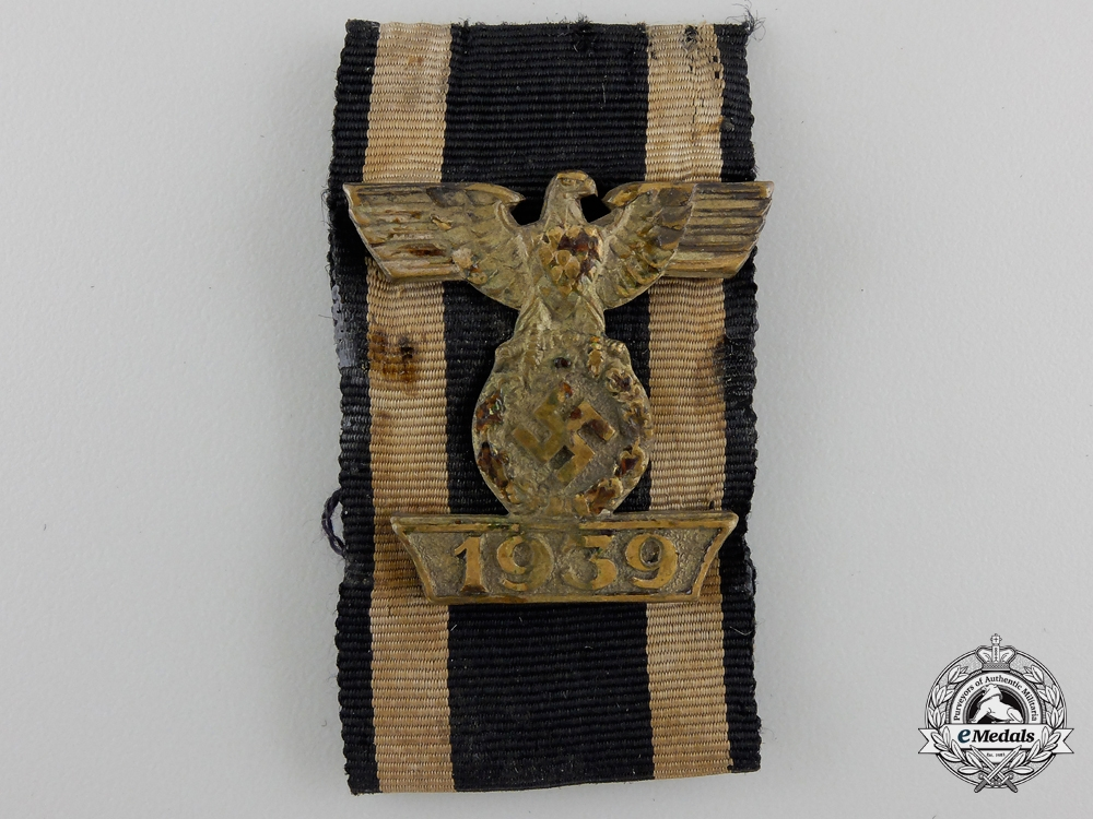 eMedals-A Clasp to the Iron Cross Second Class 1939; First Version