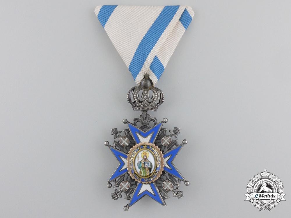 eMedals-A Serbian Order of St. Sava; Fifth Class Knight