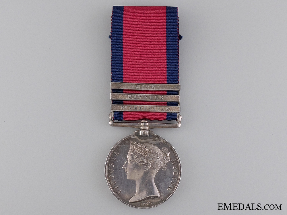 eMedals-A Military General Service Medal to the King's German Legion