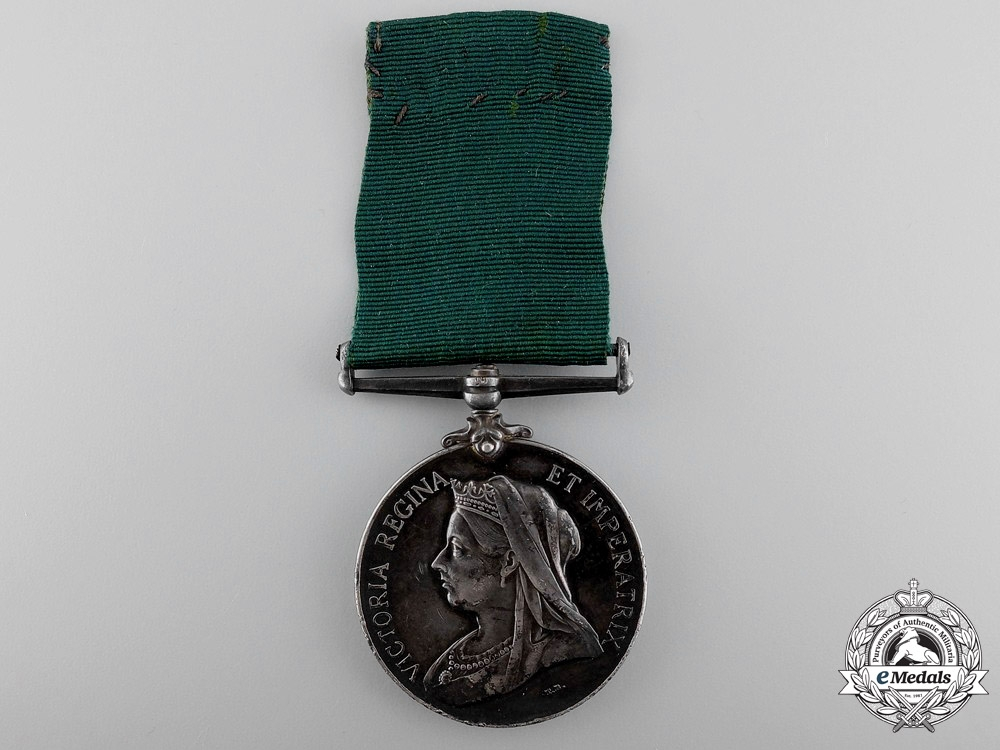 eMedals-A Colonial Auxiliary Forces Long Service Medal