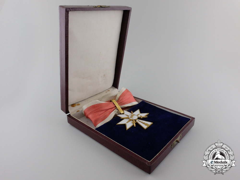 eMedals-A Croatian Order of King Zvonimir 1941-1945; 1st Class with Swords
