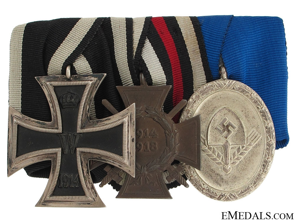 eMedals-Imperial & T. Reich Medal Bar
