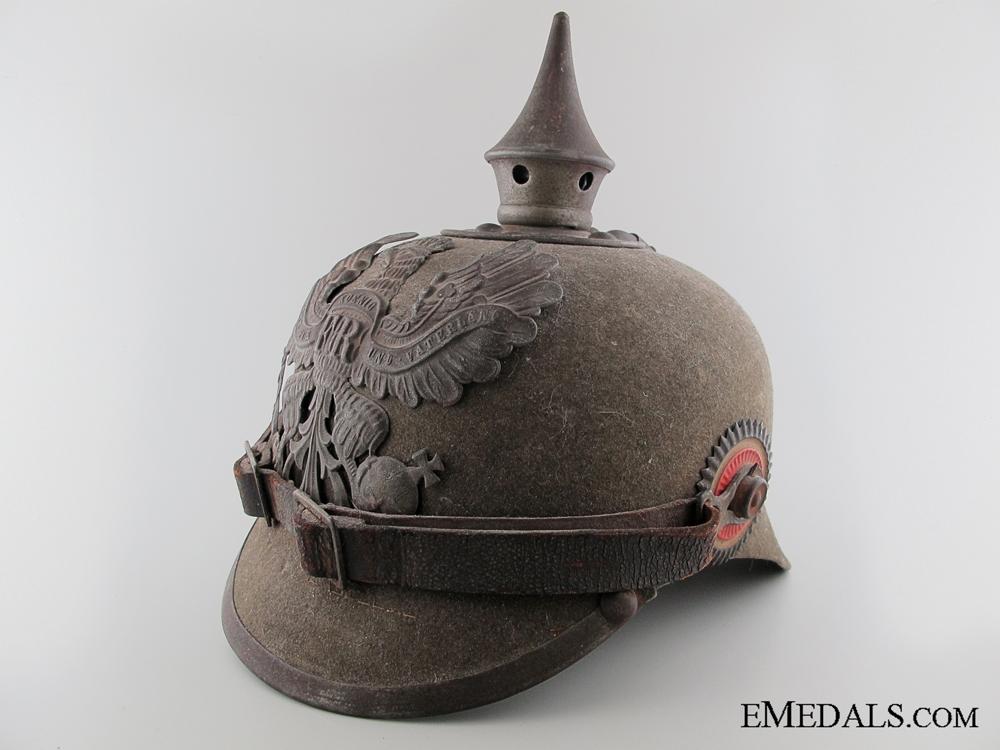 eMedals-Imperial Prussian Ersatz Felt Pickelhaube1600