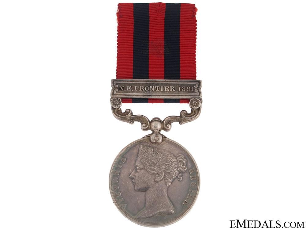 eMedals-India General Service Medal 1854-95