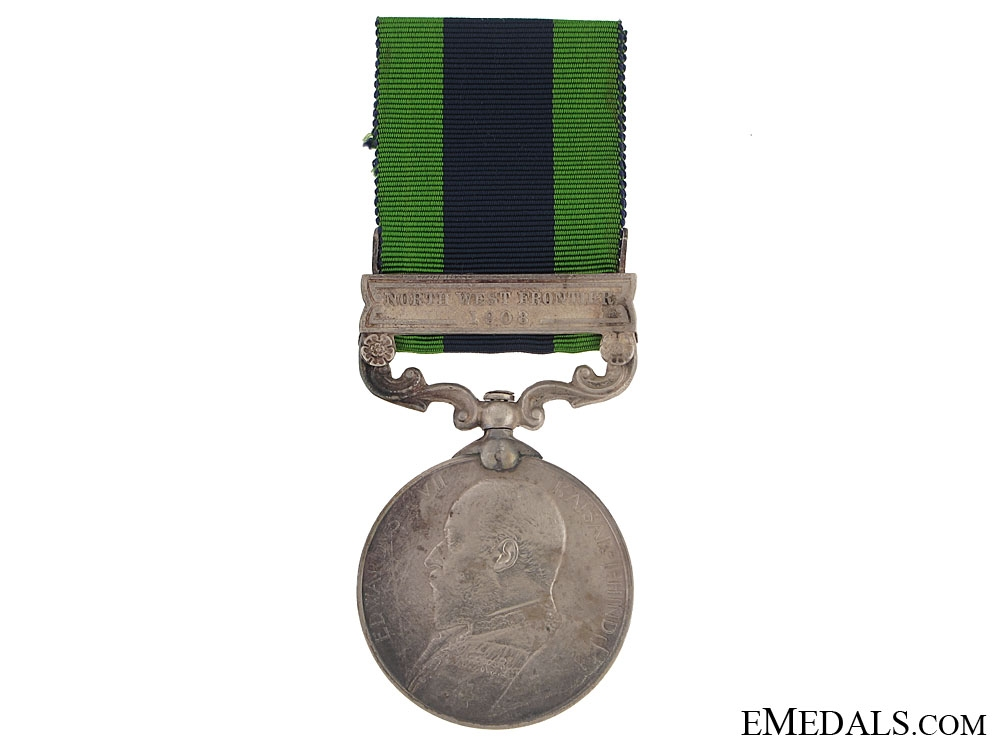 eMedals-India General Service Medal - 45th Sikh Regiment