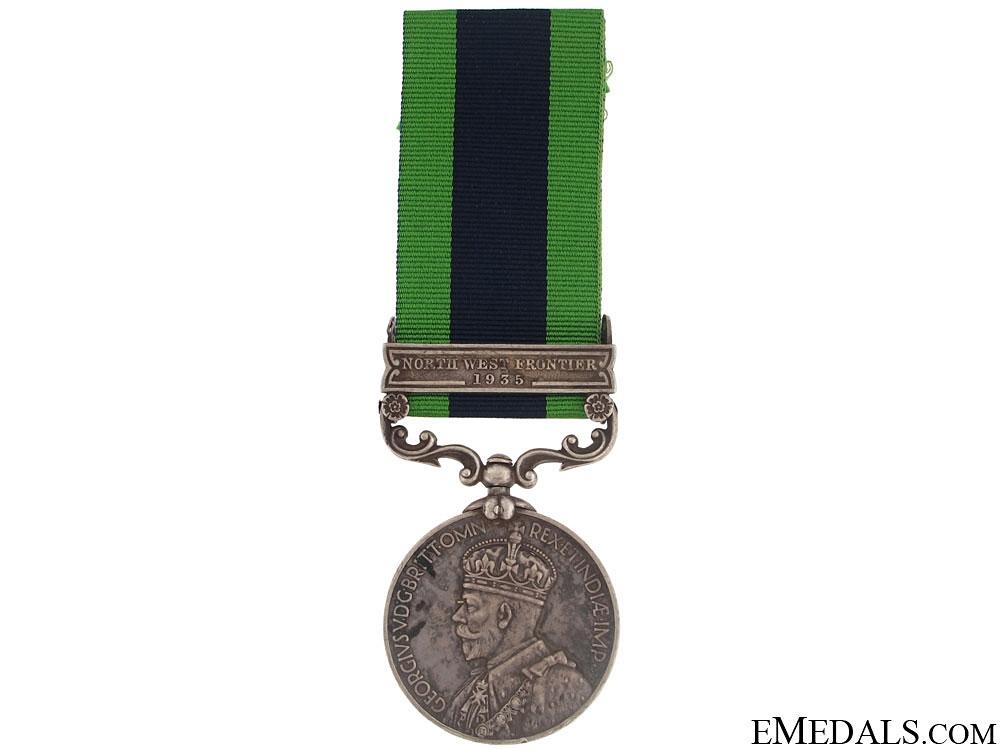 eMedals-India General Service Medal - Punjab Regiment