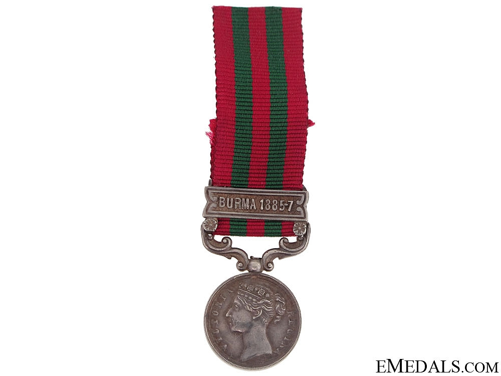 eMedals-India General Service Medal 1854-1985