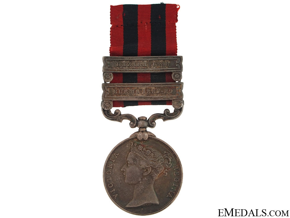 eMedals-India General Service Medal 1854