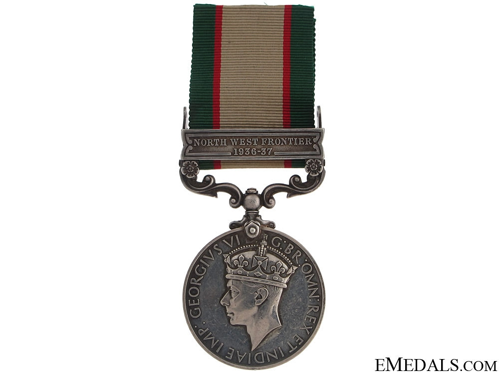 eMedals-India General Service Medal 1936-39